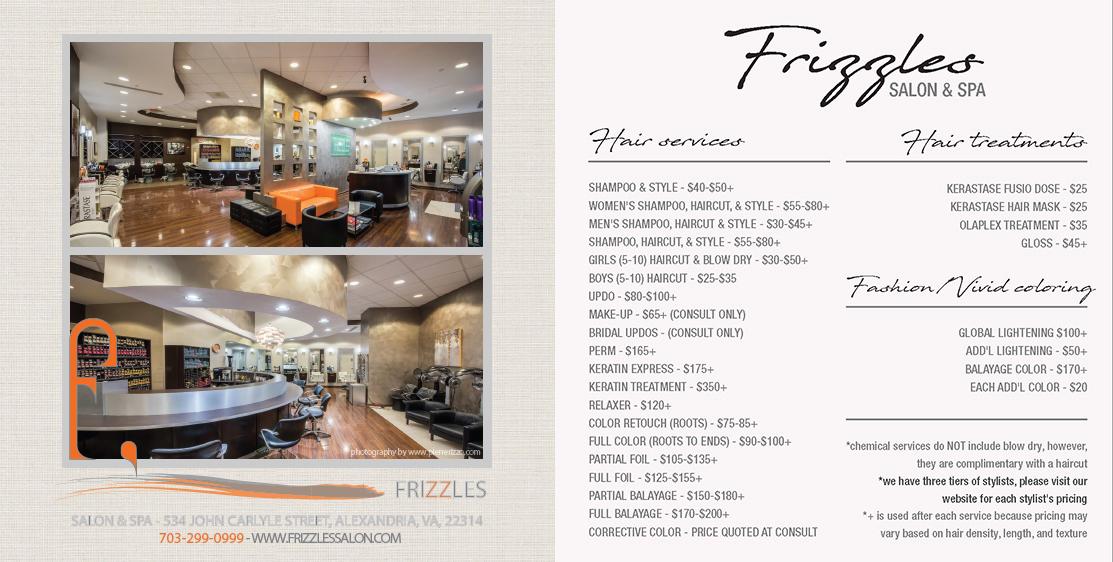 Hair Salon Alexandria | Frizzles Salon & Spa